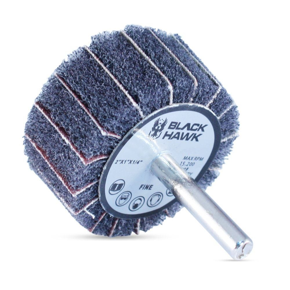 "200 Pack 4.5/"" x 7//8/"" Black Hawk 80 Grit Zirconia Flap Disc Grinding Wheels T27"