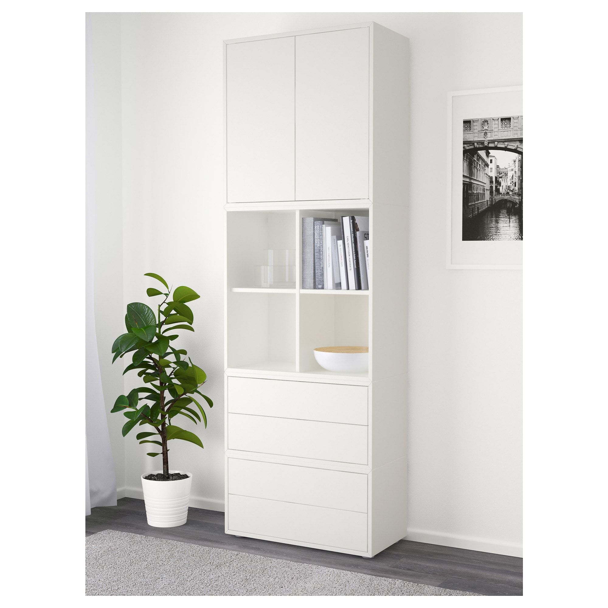 Best Ikea Eket Storage Combination With Feet White Ikea 400 x 300