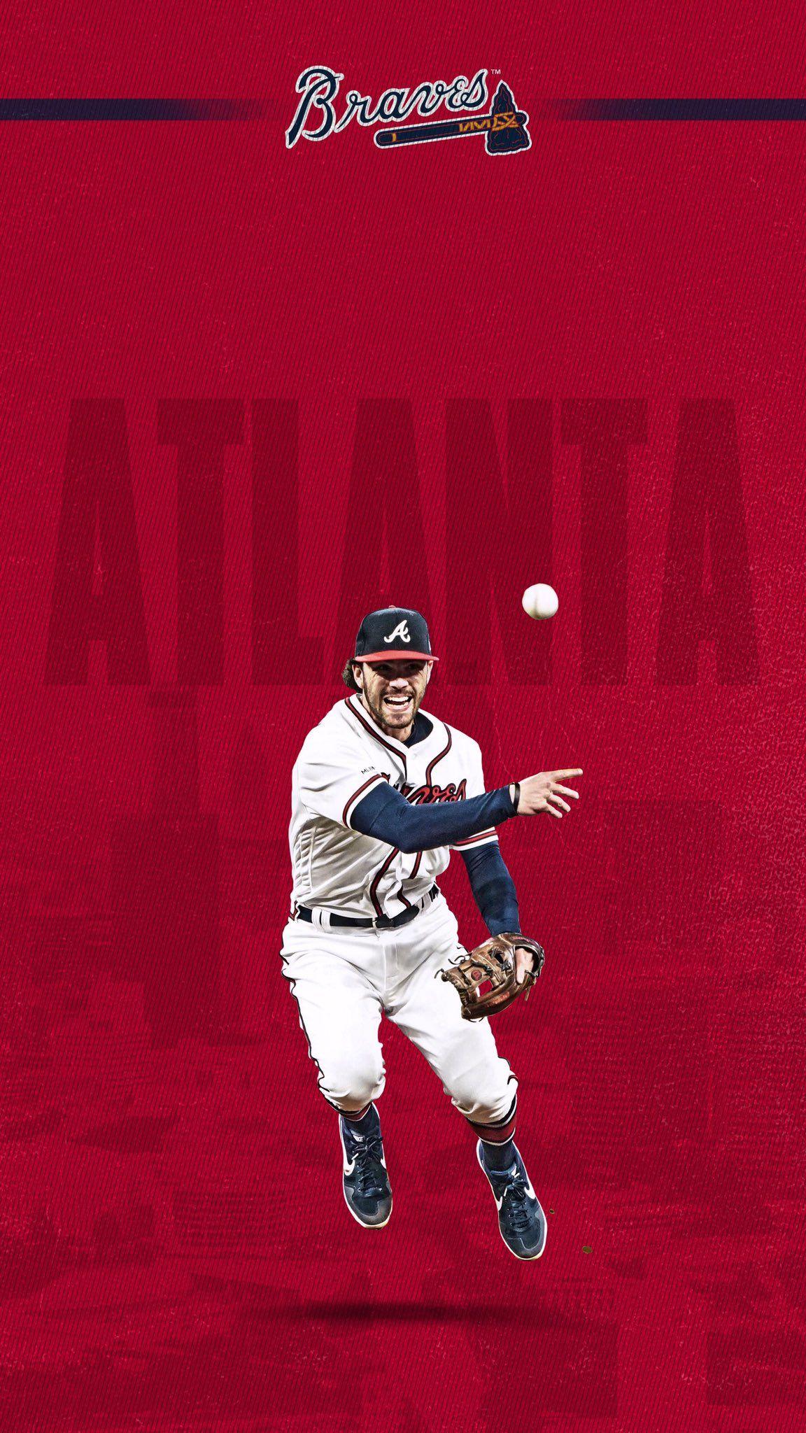 Atlanta Braves On Twitter Atlanta Braves Wallpaper Atlanta Braves Braves