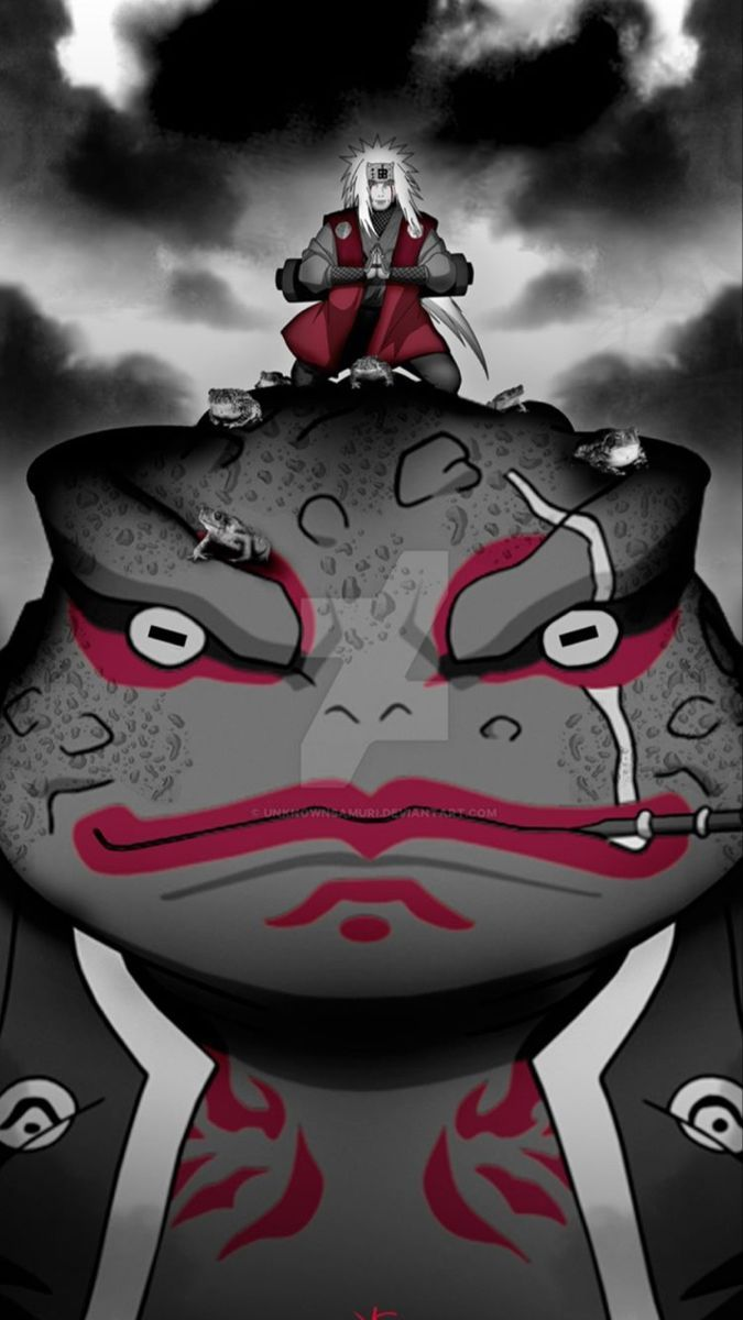 Jiraiya Gamabunta Narutowallpaper In 2020 Naruto Shippuden