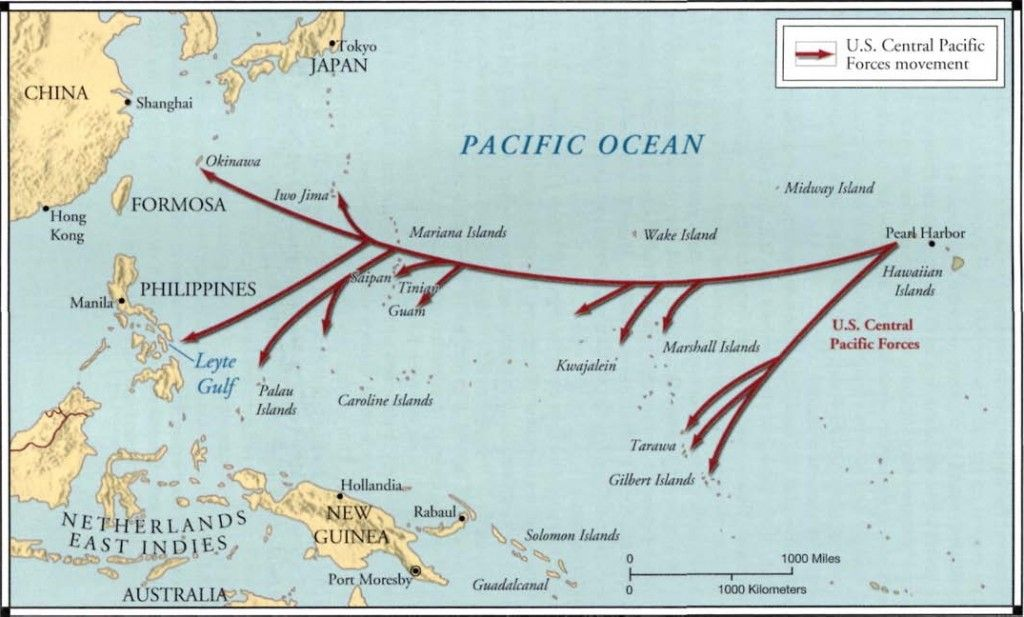 The U S Strategy Of Island Hopping In The Pacific Quizlet