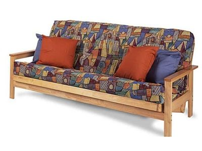 Full Size Albany Futon Bed Package In Natural By Gold Bond