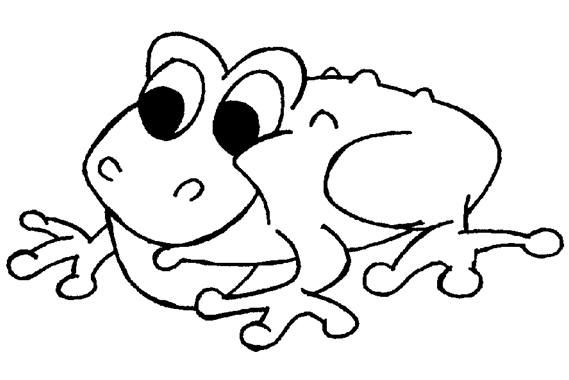 Free Coloring Page Printable Ribbet Says The Toad