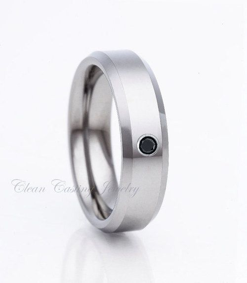 Cobalt Wedding Band Cobalt Wedding Ring Black Diamond Anniversary - http://blackdiamond-rings.com/cobalt-wedding-band-cobalt-wedding-ring-black-diamond-anniversary/