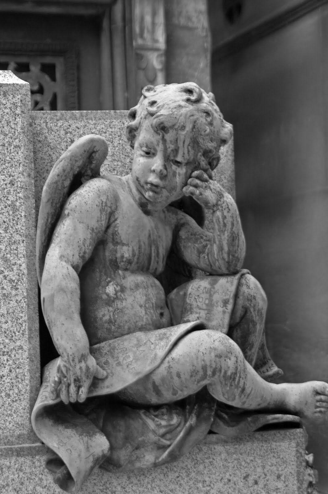 cherub... #angel | Angel statues sculpture, Angel statues