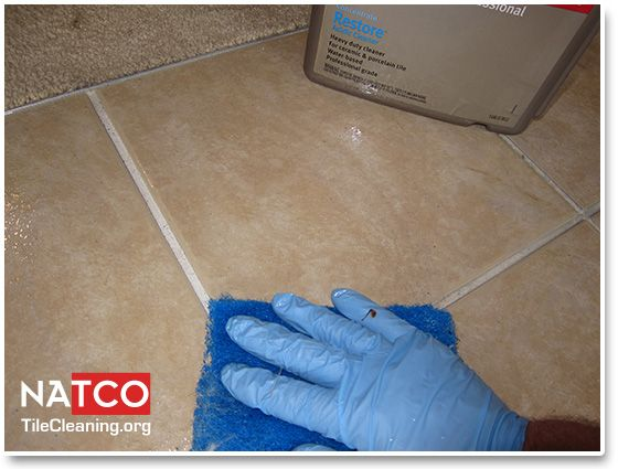 Cleaning Grout With An Acidic Cleaner Cleaning Ceramic Tiles And - Cleaning grout on ceramic tile floors