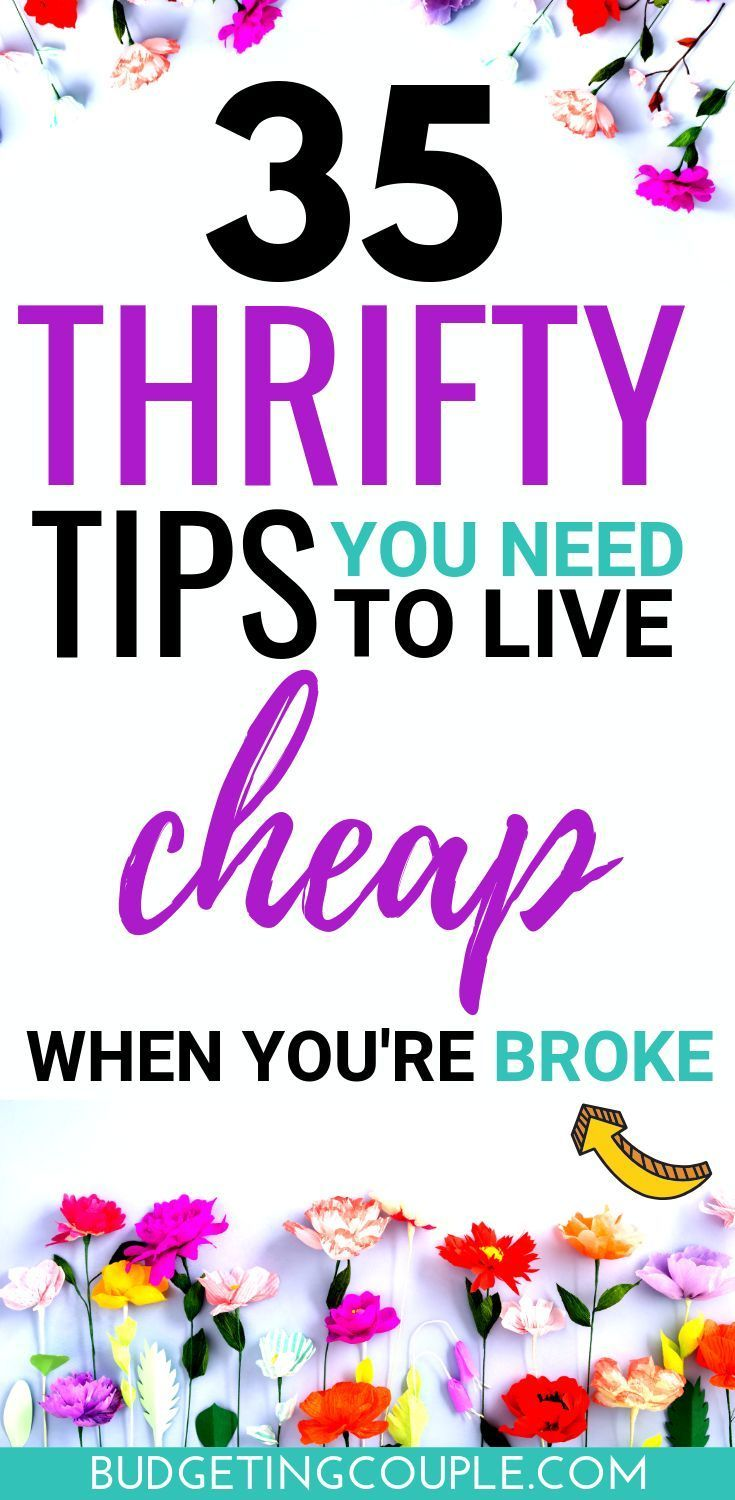 How to Live Cheap: 32 (easy) Cheap Living Tips - Budgeting Couple