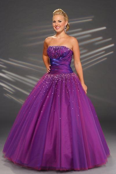 Colorful Purple Prom Dresses