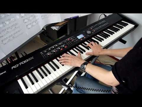 Leon - The Professional - Sting - Shape Of My Heart - piano cover