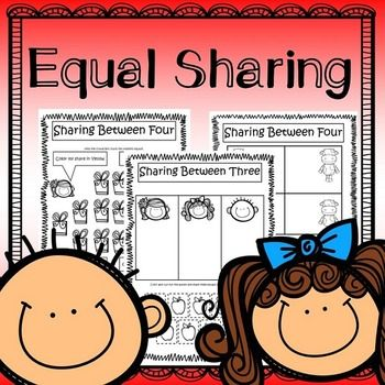 Equal Sharing Splitting Numbers Introduction to Division