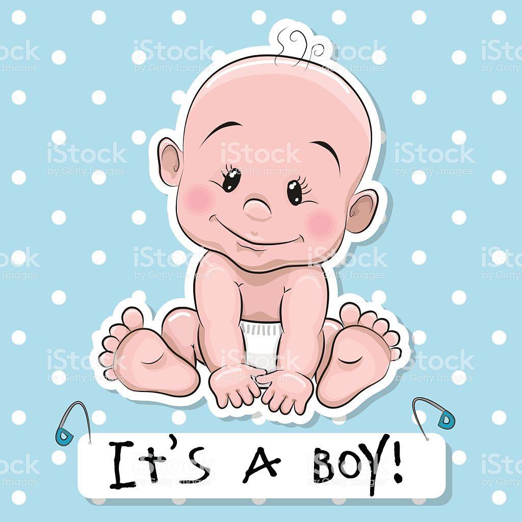 Bebe Menino Bonito Dos Desenhos Ilustracao De Bebe Menino Bonito Dos Desenhos E Mais Banco De Im Scrapbook Bebe Desenhos Animados Bonitinhos Ilustracao De Bebe