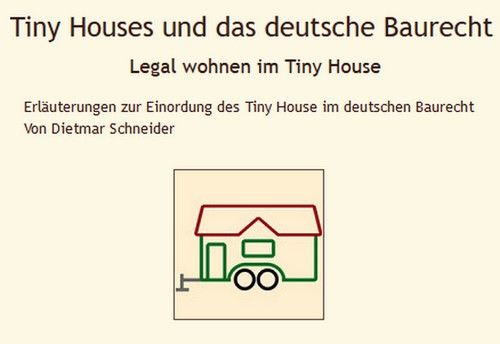 Tiny Houses Und Das Deutsche Baurecht Legal Wohnen Im
