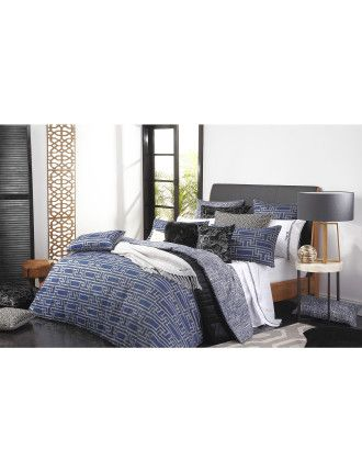 Florence Broadhurst Yvans Queen Quilt Cover (Set) | David Jones ... : quilt cover sets david jones - Adamdwight.com