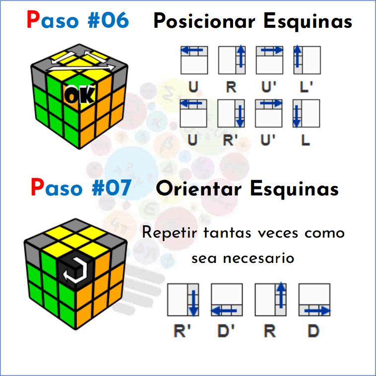 Cómo Resolver Un Cubo Rubik Mates Fáciles Resolver Cubo De Rubik Armar Cubo Rubik Cubo Rubik