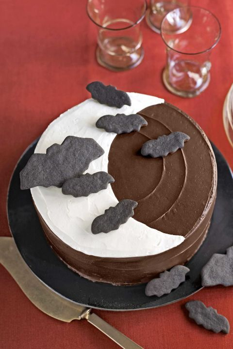 20 Best Halloween Cakes to Make This Fall Simple chocolate cake - halloween cake decorations