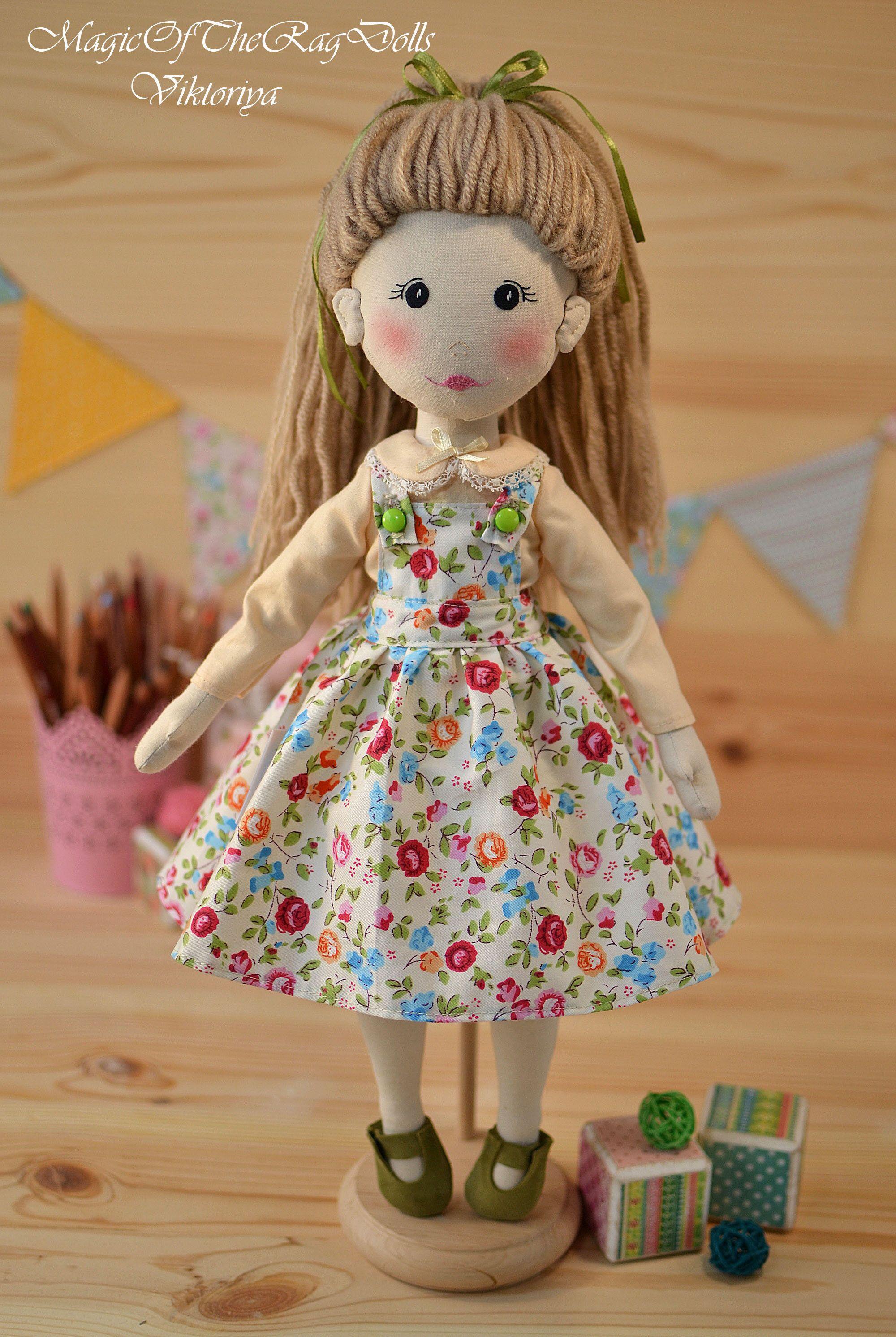 soft doll fabric handmade doll cloth doll stuffed doll doll cotton, ragdoll