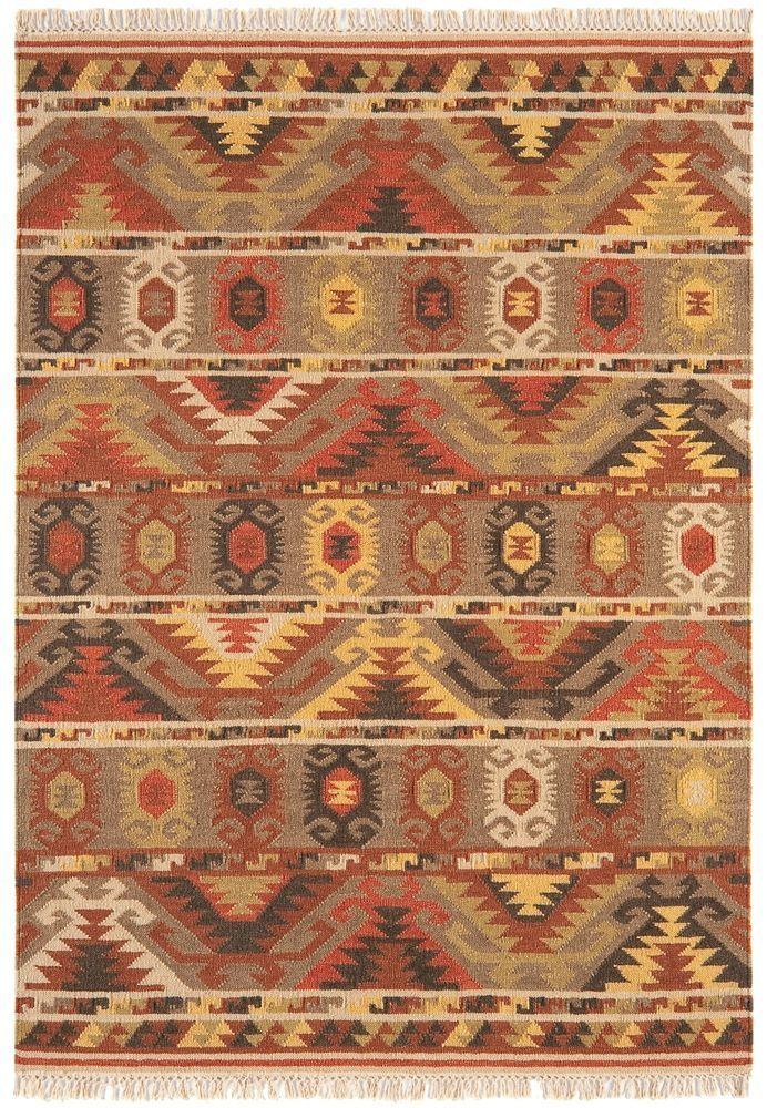 teppich wohnzimmer orient carpet persisches design kelim zick zack