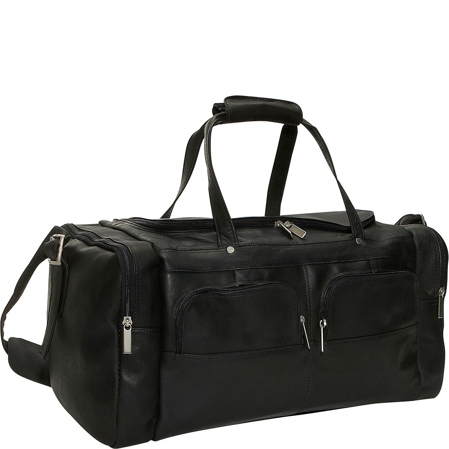 David King Leather Multi Pocket Sport Duffel ** Details can be found by clicking on the image. (This is an Amazon Affiliate link)