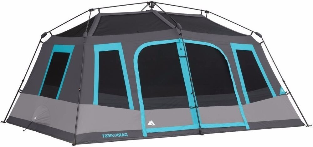 Ozark Trail 10 Person Dark Rest Instant Cabin Tent Ozarktrail Tent Outdoors Adventure Camping Adventuretime Camp Nature Cabin Tent Tent Ozark Trail