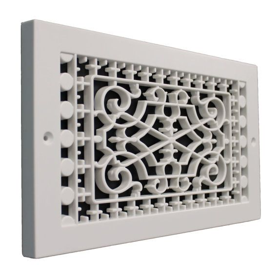 Victorian 6 X 12 Base Board Grille Vent
