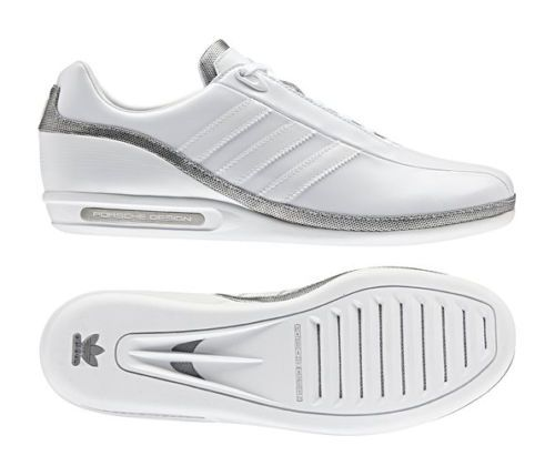 adidas porsche design g3 all white casual shoes