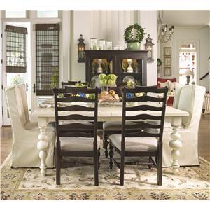 Great Paula Deen By Universal Paula Deen Home Paulau0027s Table W/ Wing Chairs U0026 Side  Chairs