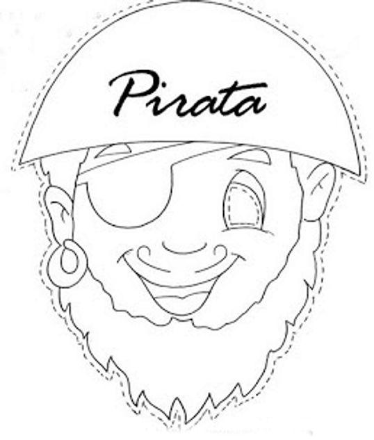 careta pirata para imprimir - Buscar con Google | Campamento Pirata ...