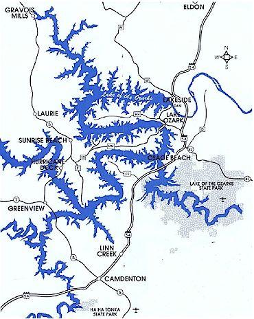 Lake Of The Ozarks Mile Markers Map : ozarks, markers, Ozarks, Catalog, Online