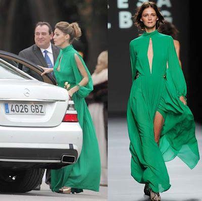 Amaia Salamanca de Teresa Helbig   #look #invitadas de #boda  ♥♥ The Wedding Fashion Night ♥♥ ♥ Visita www.wfnclub.com ♥