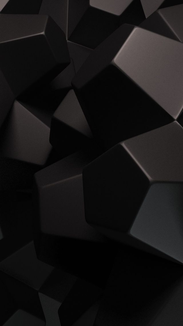 Abstract 3d Dark Cubes Render Iphone 5 Wallpaper Cuteiphonewallpaperstumblr Iphonewallpape Abstract Wallpaper Dark Wallpaper Samsung Wallpaper
