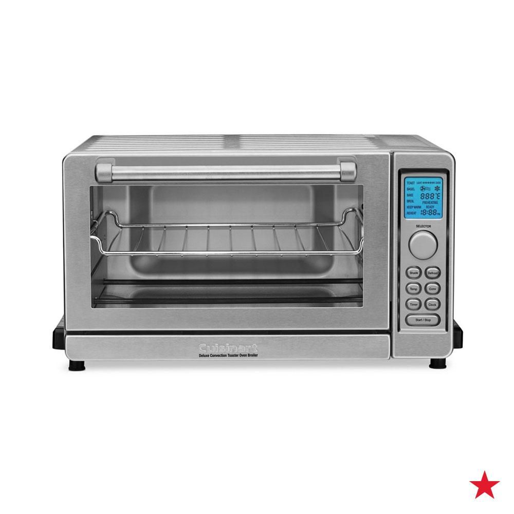 What Do We Love About The Cuisinart Deluxe Toaster Oven Broiler Its Spacious Design And Nine Pr Countertop Oven Convection Toaster Oven Toaster Oven Reviews