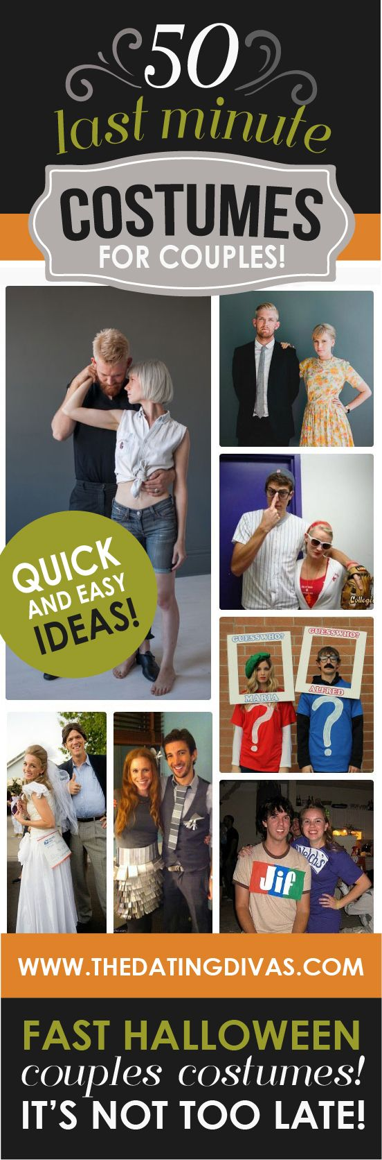 50 Last Minute Couples Halloween Costume Ideas Easy