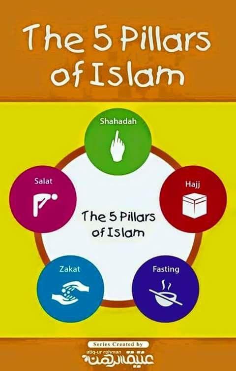5 pillars of islam education s ulen des islam islam kinder. Black Bedroom Furniture Sets. Home Design Ideas