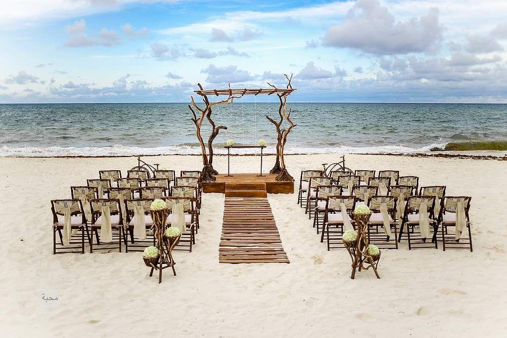 small beach wedding ceremony ideas%0A Mexico Destination Weddings at Banyan Tree Mayakoba