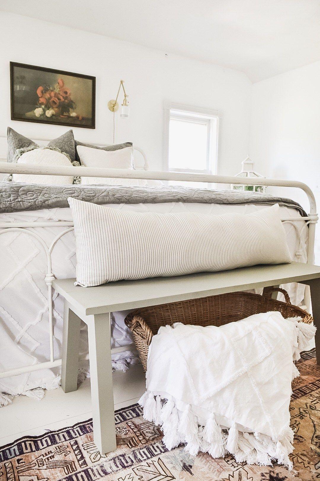 diy modern farmhouse bench  remodel bedroom small