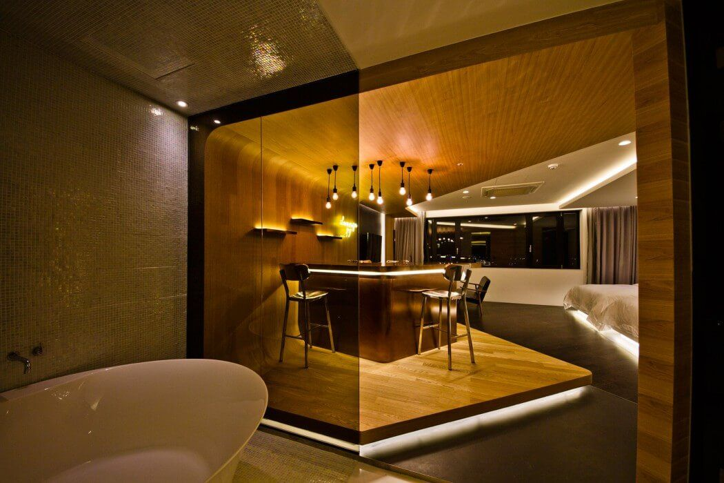 Lounge 17 by by Seungmo Lim INTERIOR DESIGN Pinterest