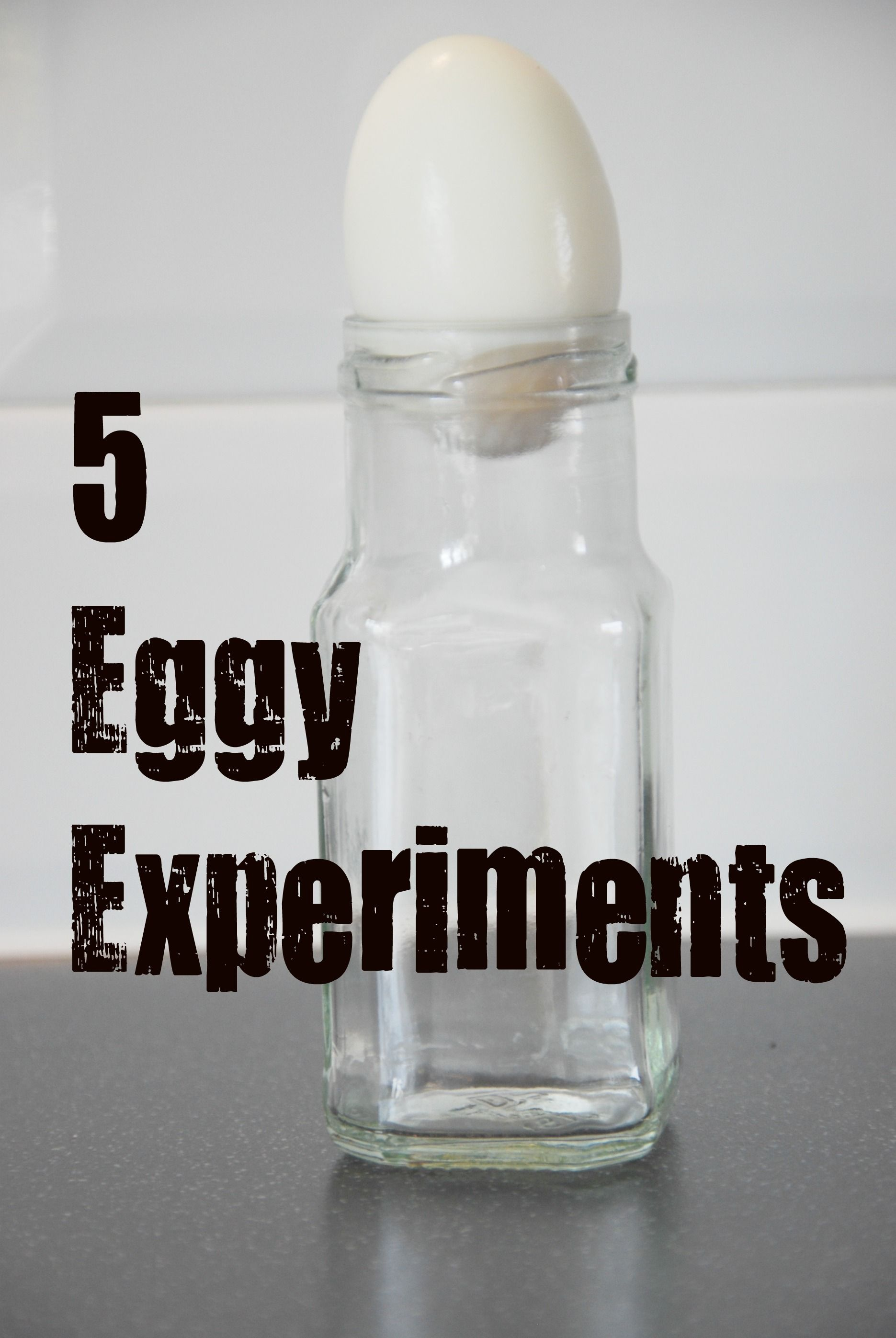 Great Egg Experiments For Kids