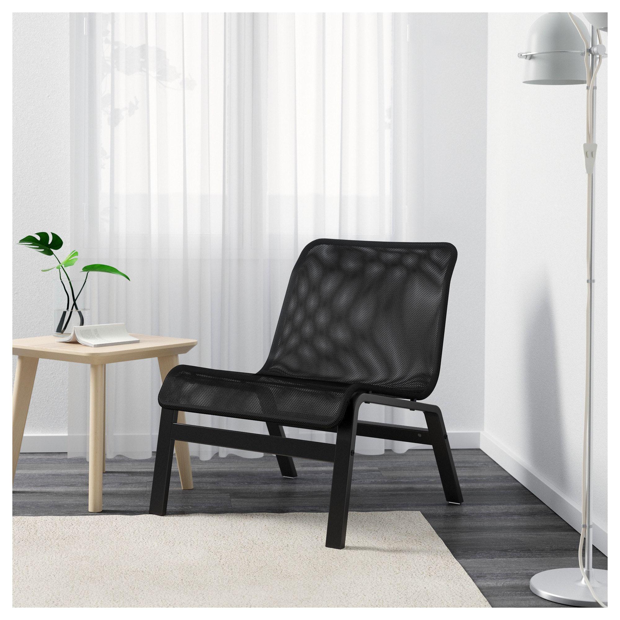 NOLMYRA Easy chair black, black IKEA Furniture