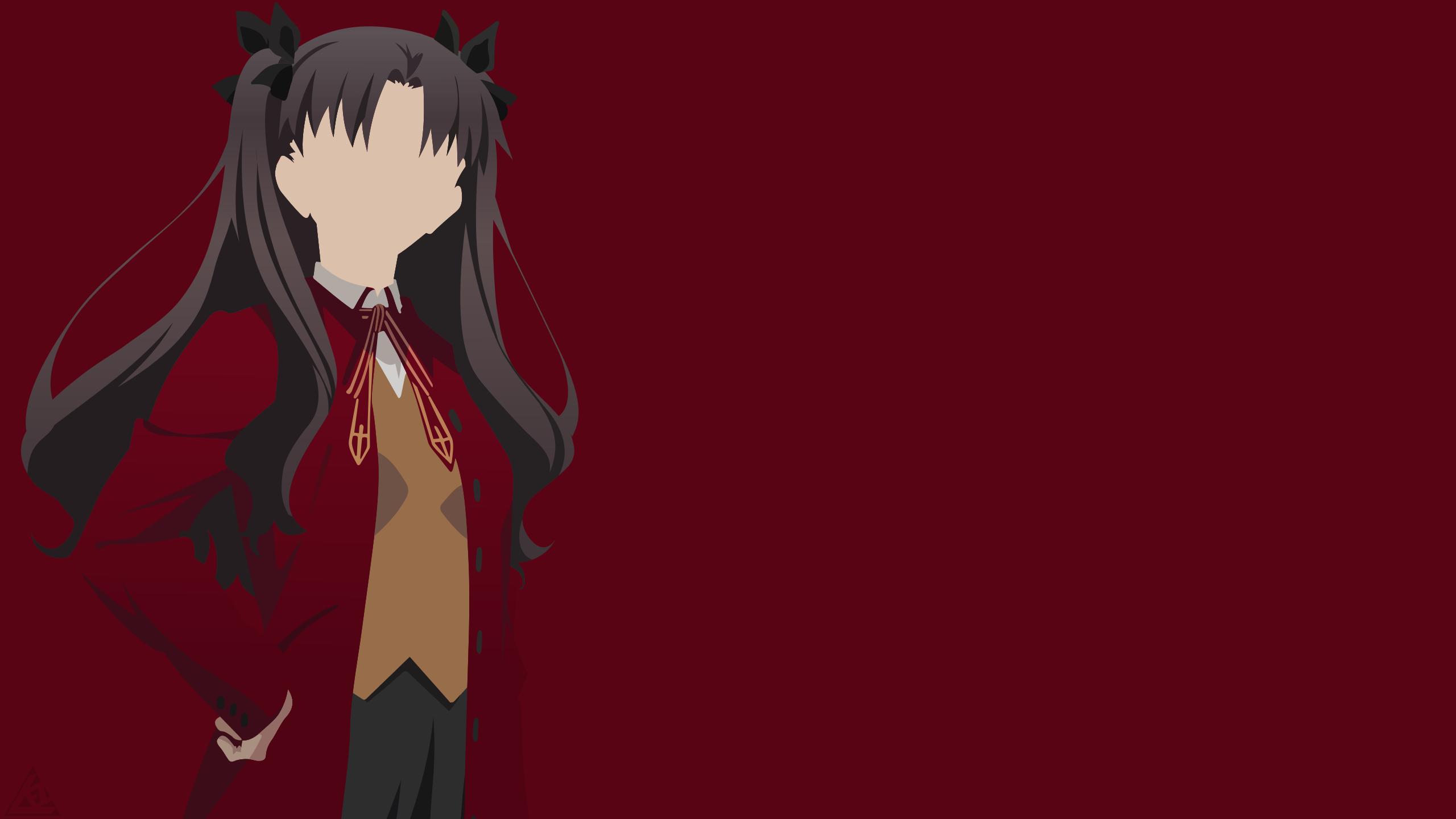 Rin Tohsaka Minimalist Fate Stay Night Rin Fate Anime Series