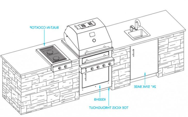 Outdoor Kitchen Plans Pdf Zitzat Com Outdoor Kitchen Plans