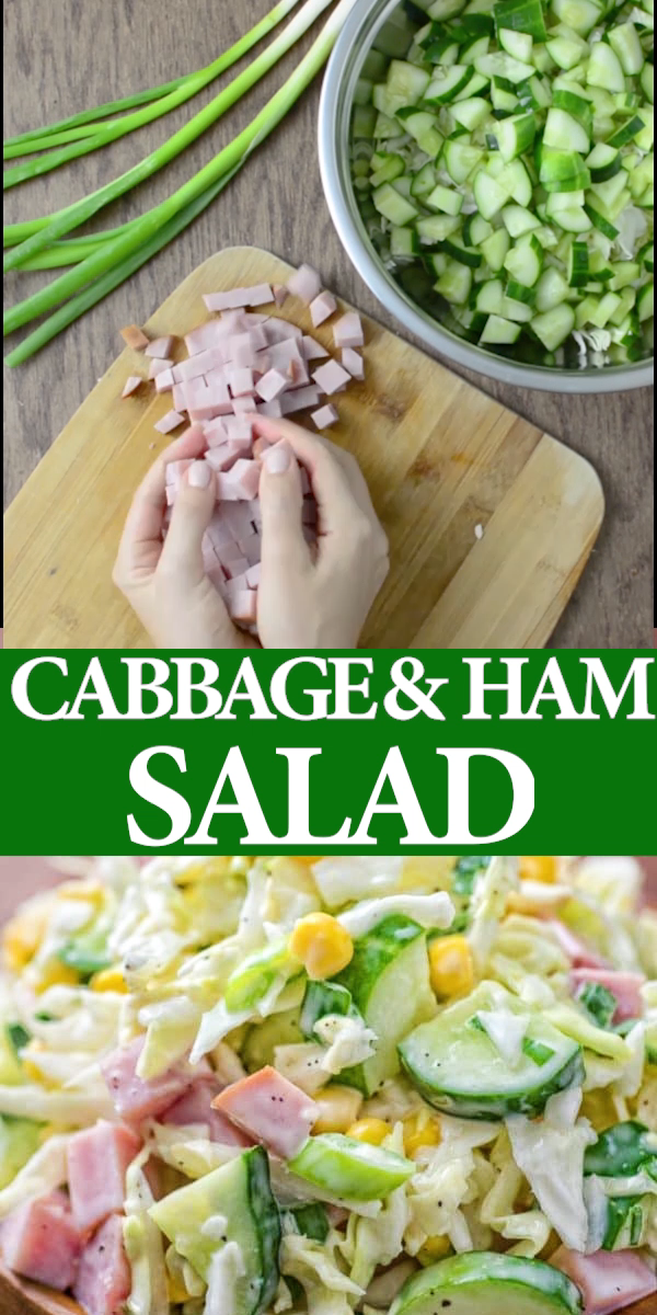 Photo of Cabbage and Ham Salad