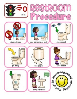 Pbs Toolkit Restroom Procedures And Door Signage School