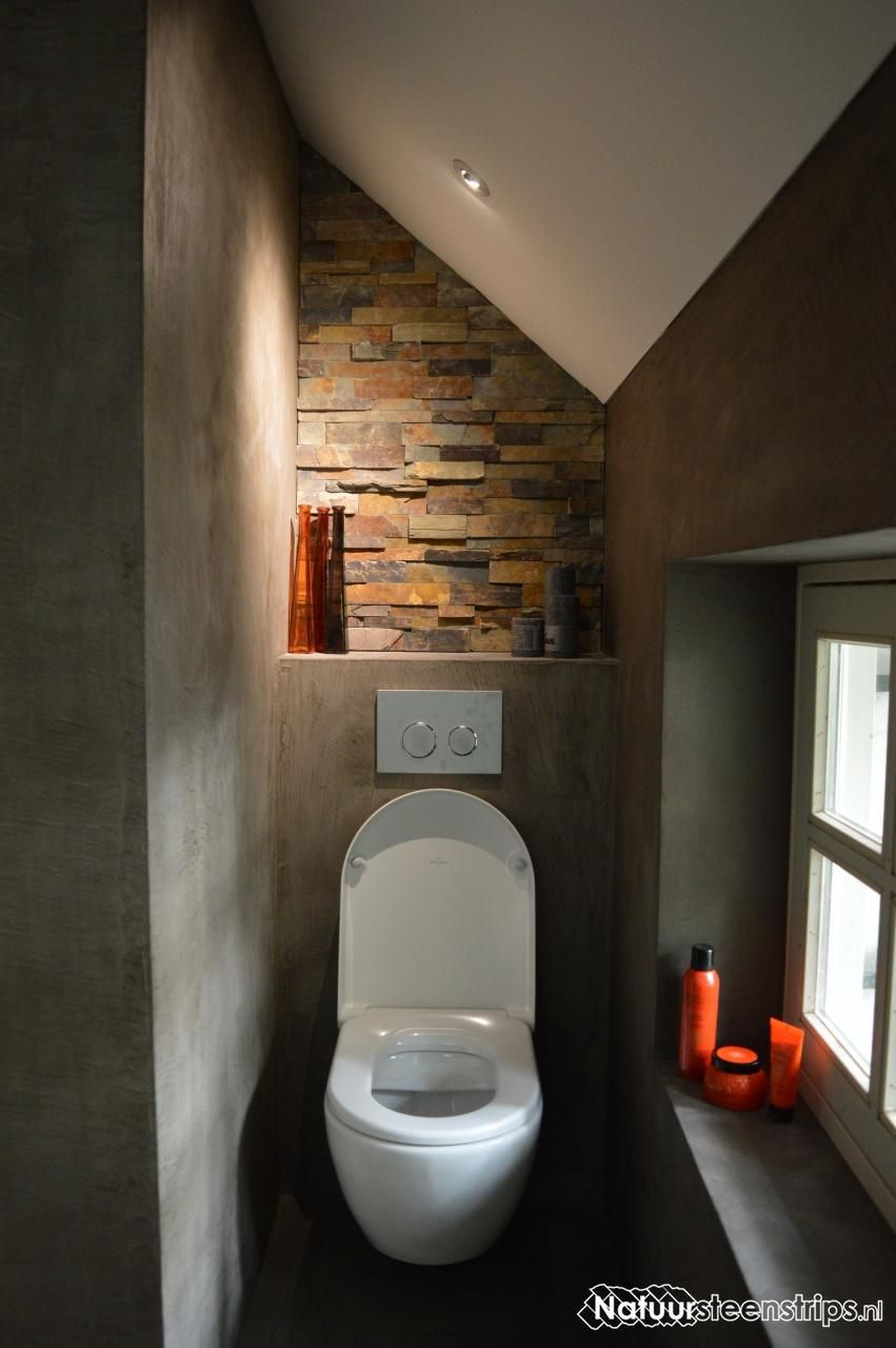 Natuursteenstrips.nl - WC | Pinterest - Badkamer, Toiletten en ...