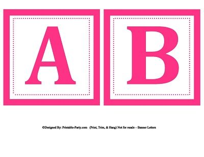 Small square printable alphabet letters printable banner letters small square printable alphabet letters printable banner letters spiritdancerdesigns Choice Image