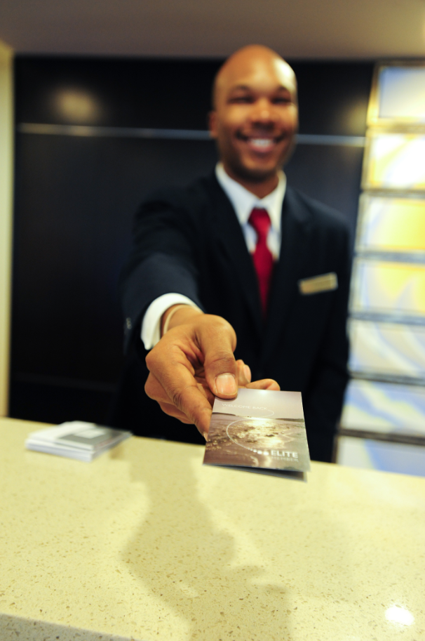 Meet Lorenzo One Of Our Friendly Mobile Marriott Front Desk Agents Here To Make Your