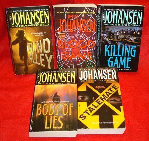 Five By Iris Johansen Eve Duncan Series Blood Blind Alley