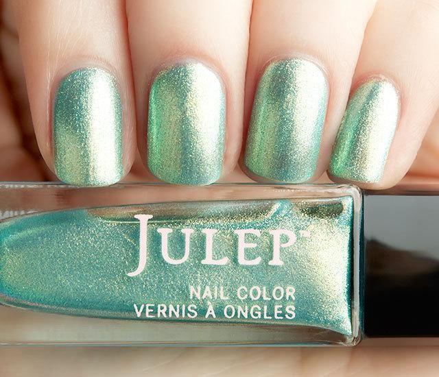 Julep Francine - Sea glass iridescent chrome. | Nails :) | Pinterest ...