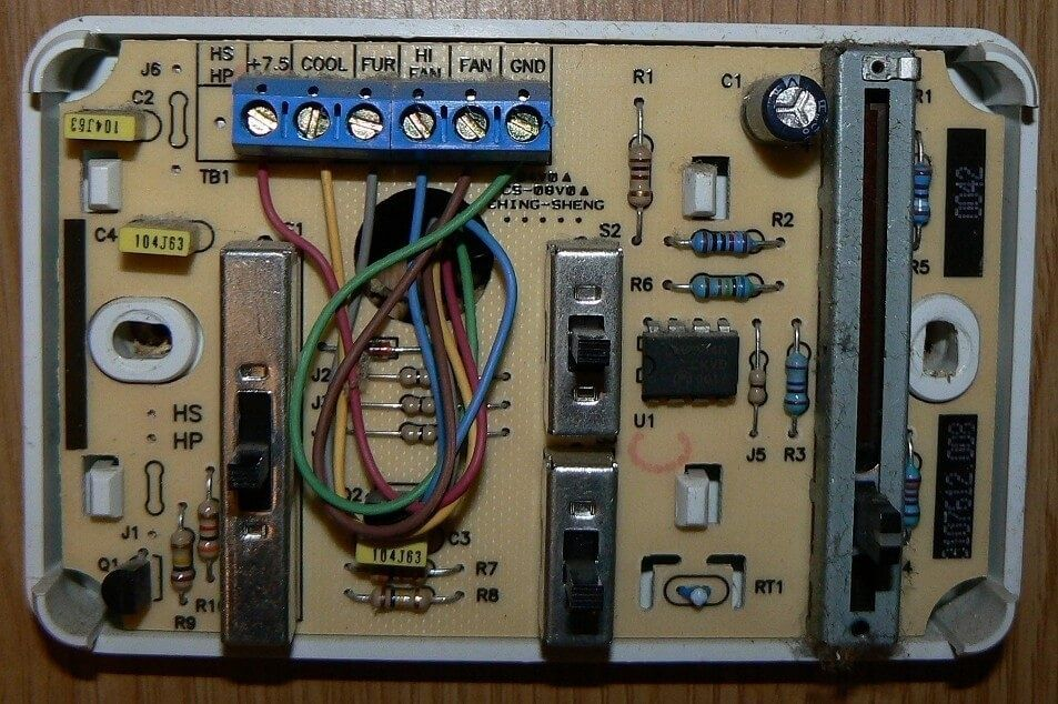 wiring diagram for dometic rv thermostat  thermostat