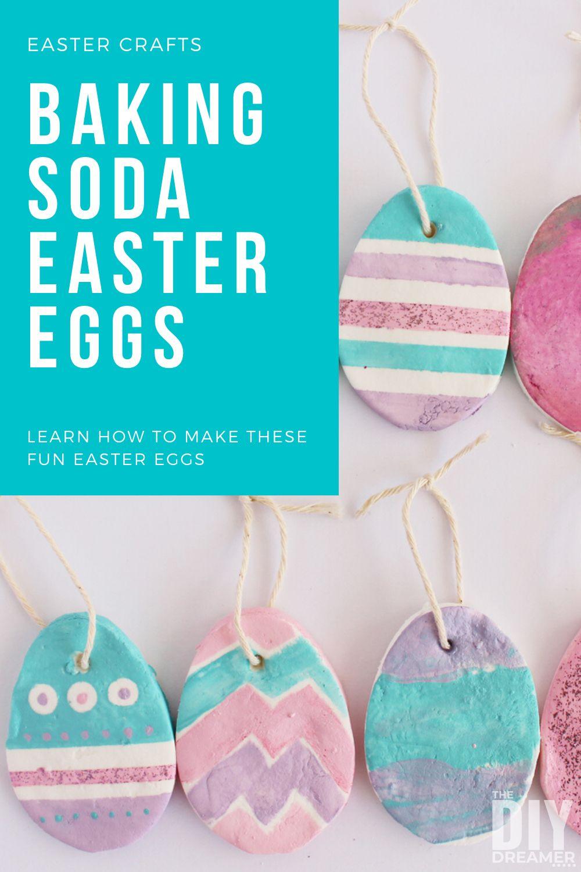 Baking Soda Easter Eggs