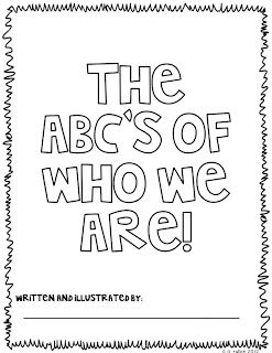 ABC Booklet great for beginning of the year to use with